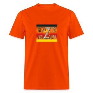 ORANGE BLAZIN T-SHIRT - Men's T-Shirt