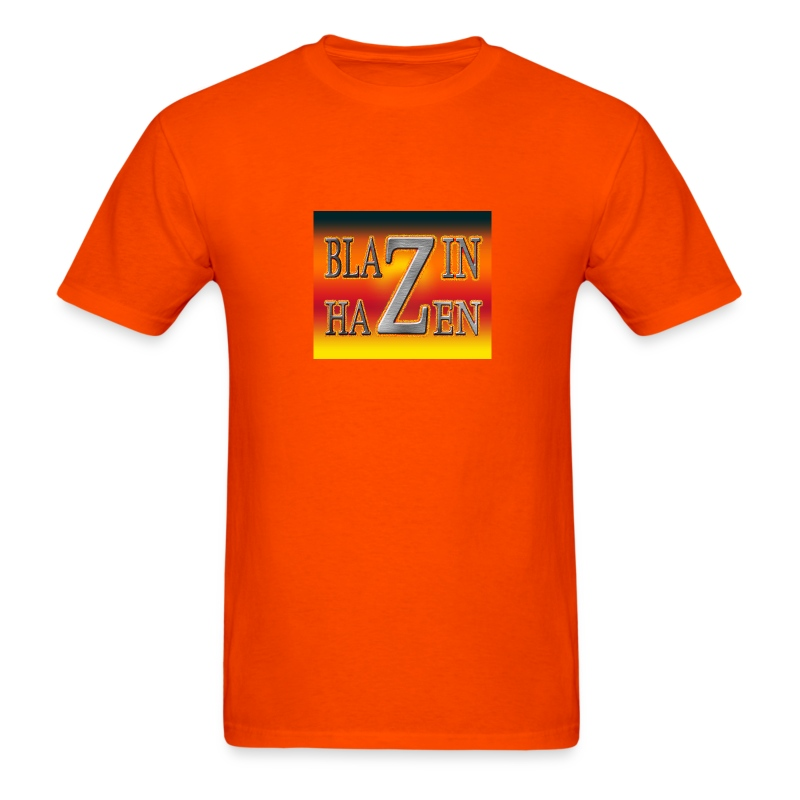 ORANGE BLAZIN T-SHIRT - Men's T-Shirt