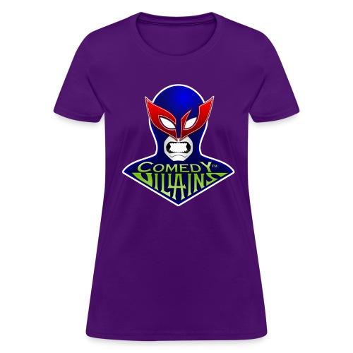 Comedy Villains - Women's T-Shirt