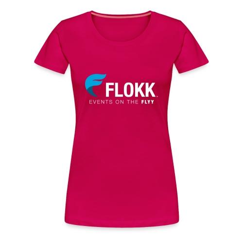 Ladies Flokk Logo T-Shirt - Women's Premium T-Shirt