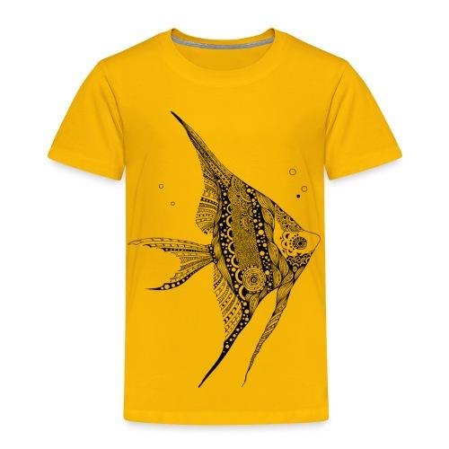 Angel Fish Tribal Toddler Premium T-Shirt from South Seas Tees - Toddler Premium T-Shirt