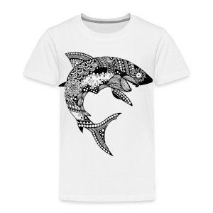 Tribal Shark Toddler Premium T-Shirt from South Seas Tees - Toddler Premium T-Shirt