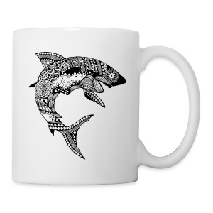 Tribal Shark Coffee/Tea Mug from South Seas Tees - Coffee/Tea Mug
