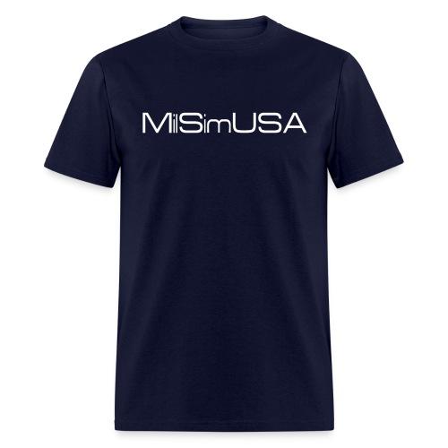 MilSimUSA Standard T - NAVY - Men's T-Shirt