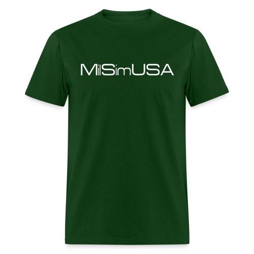 MilSimUSA Standard T - GREEN - Men's T-Shirt