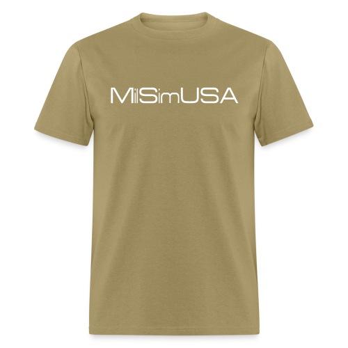 MilSimUSA Standard T - TAN - Men's T-Shirt