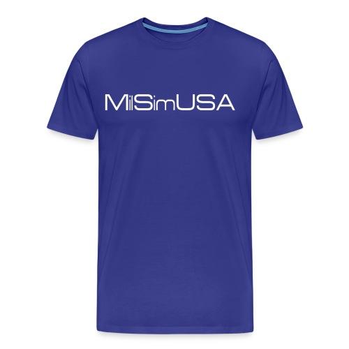 MilSimUSA Premium T - GAME CONTROL - Men's Premium T-Shirt