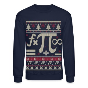 Math Ugly Christmas Long Sleeve Shirts - Crewneck Sweatshirt