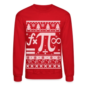 Math Christmas Long Sleeve Shirts - Crewneck Sweatshirt