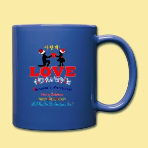 ↷♥LOVE-Romantic Christmas Ceramic Mug♥↶ - Full Color Mug
