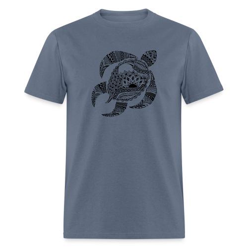 Tribal Turtle Men's T-Shirt from South Seas Tees - Men's T-Shirt