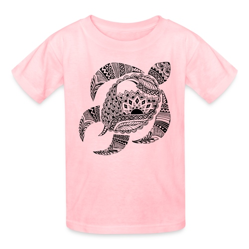 Tribal Turtle Kids T-Shirt from South Seas Tees - Kids' T-Shirt