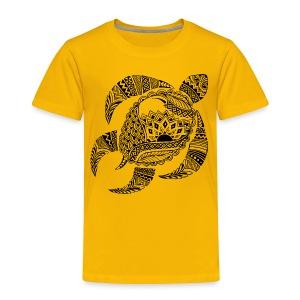 Tribal Turtle Toddler T-Shirt from South Seas Tees - Toddler Premium T-Shirt
