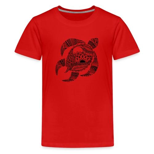 Tribal Turtle Kids T-Shirt from South Seas Tees - Kids' Premium T-Shirt