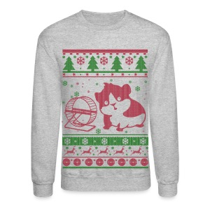 Guinea Pig Christmas Long Sleeve Shirts - Crewneck Sweatshirt
