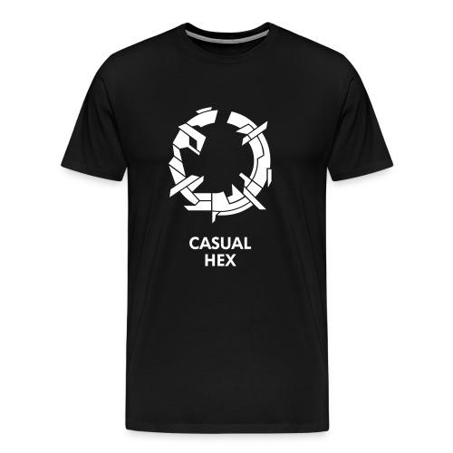 Casual Hex Logo Tee - Men's Premium T-Shirt