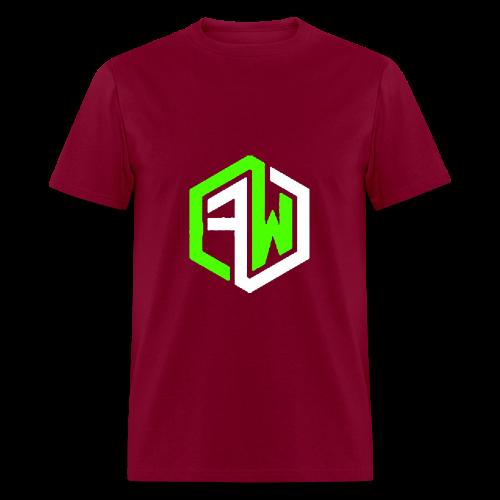 First Wave Burgundy - Men's T-Shirt