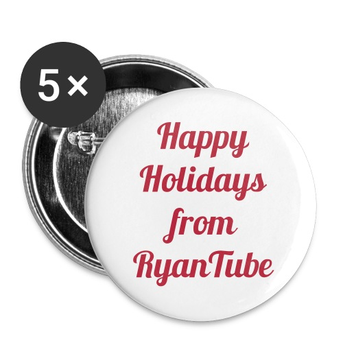Happy Holidays Buttons - Small Buttons