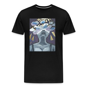 Brainstorm painting Tee - Men's Premium T-Shirt