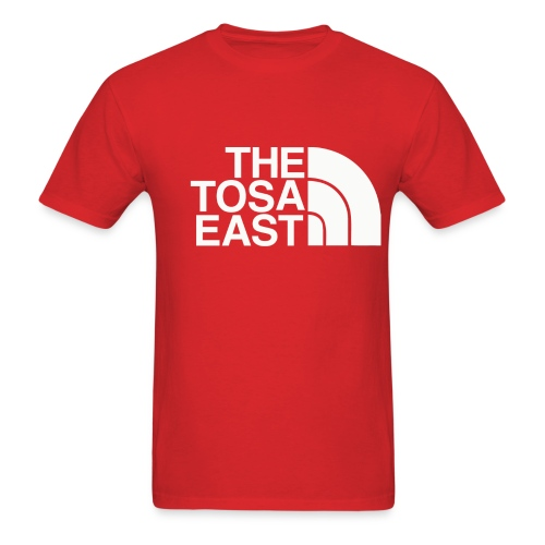 The Tosa East T-Shirt (Red) - Men's T-Shirt