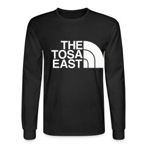 The Tosa East Long Sleeve T (Black) - Men's Long Sleeve T-Shirt
