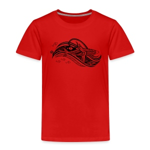 South Seas Tribal Shark Toddler Premium T-Shirt - Toddler Premium T-Shirt