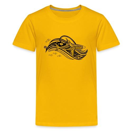 South Seas Tribal Shark Kids Premium T-Shirt - Kids' Premium T-Shirt