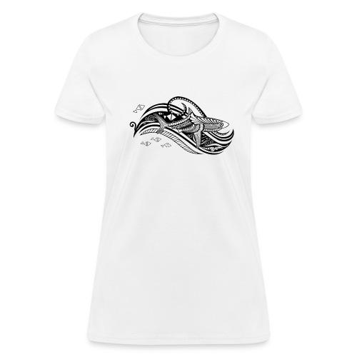 South Seas Tribal Shark Women's T-Shirt - Women's T-Shirt