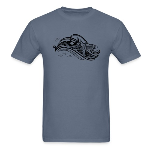 South Seas Tribal Shark Men's T-Shirt - Men's T-Shirt