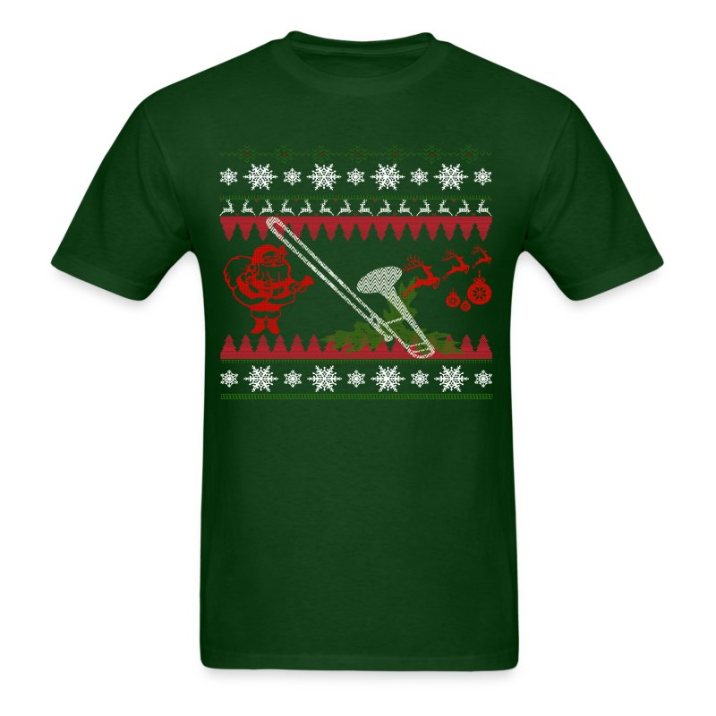 Ugly Trombone Christmas - Men's T-Shirt