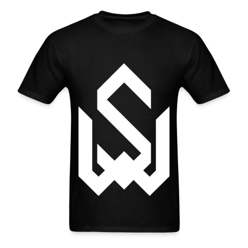 Wood And Steel, Men's T-Shirt - Black - Men's T-Shirt