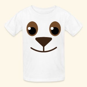 Puppy Dog Animal Face Cute Kids T-shirt - Kids' T-Shirt