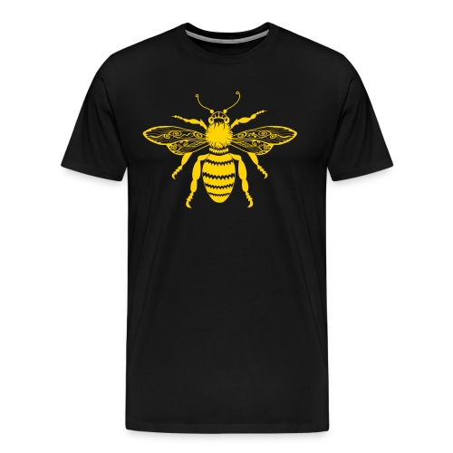 Tribal Queen Bee Men's Premium T-Shirt from South Seas Tees - Men's Premium T-Shirt