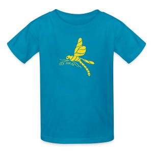 Fly Away Dragonfly Kids T-Shirt - Kids' T-Shirt