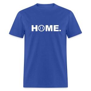 Baseball is Home - Men's T-Shirt