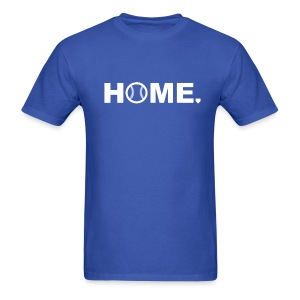 Baseball is Home - Men's T-Shirt
