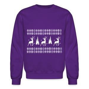 christmas reindeer - Crewneck Sweatshirt
