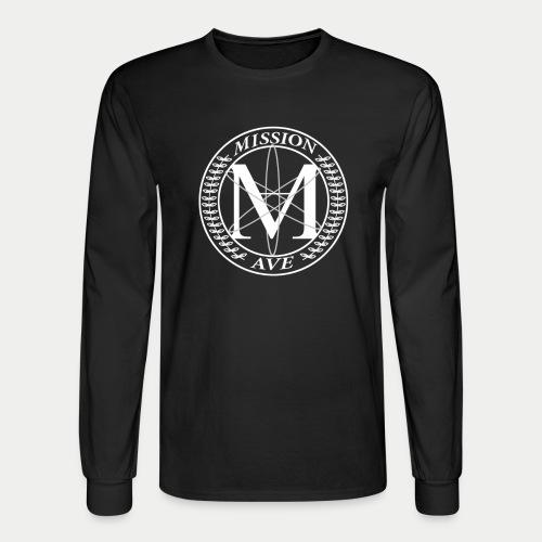 Black Mission Ave L/S Tee - Men's Long Sleeve T-Shirt