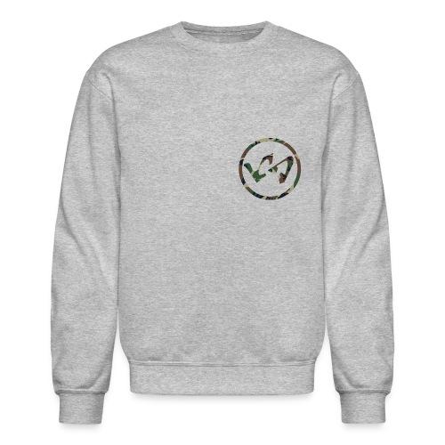 Camo LachieSmish Logo Crewneck Sweatshirt  - Crewneck Sweatshirt