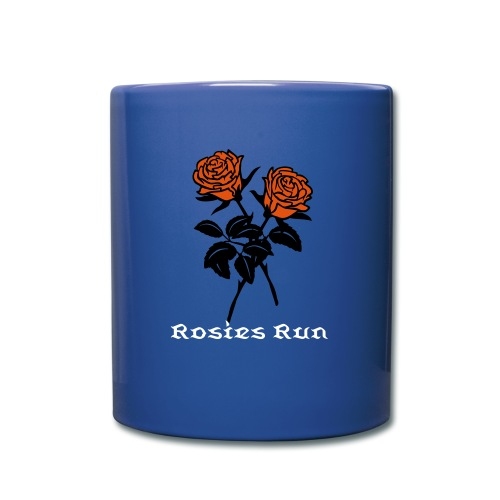 Rose blue cup - Full Color Mug
