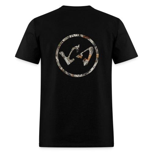 Wood Camo LachieSmish Logo Tee - Men's T-Shirt