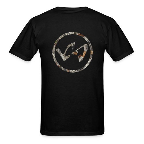Wood Camo LachieSmish Logo Tee - Men's T-Shirt
