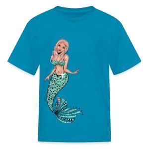 Mermaid Kids T-Shirt from South Seas Tees - Kids' T-Shirt