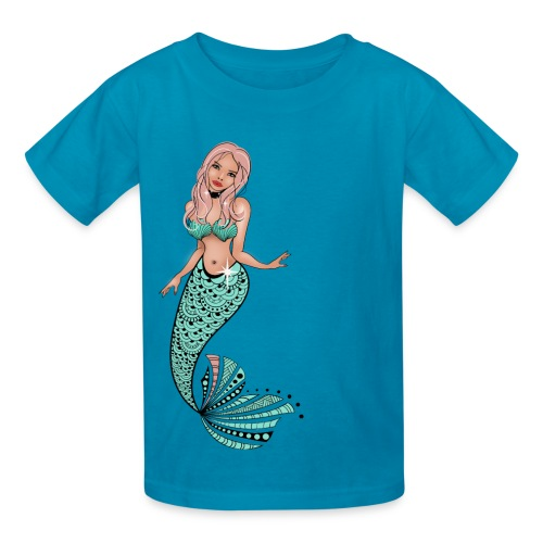 Mermaid Kids T-Shirt from South Seas Tees - Kids' T-Shirt