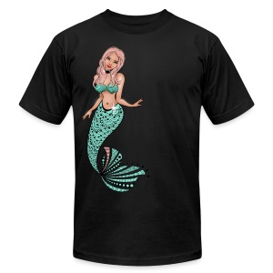 Mermaid Men's T-Shirt from South Seas Tees - Men's Fine Jersey T-Shirt