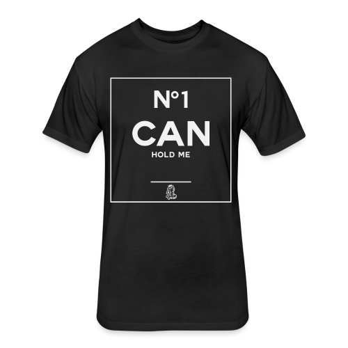 No1 Can Hold Me - Fitted Cotton/Poly T-Shirt by Next Level