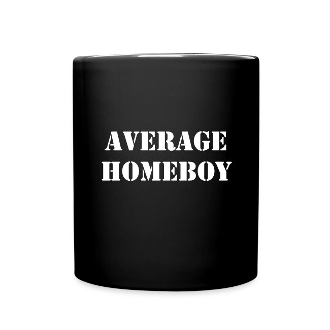 Average Homeboy Mug