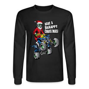 ATV Christmas Santa - Men's Long Sleeve T-Shirt