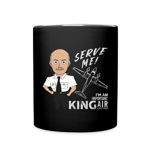 Coffee Mug, King Air - Full Color Mug