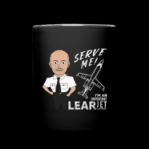 Coffee Mug, Learjet - Full Color Mug